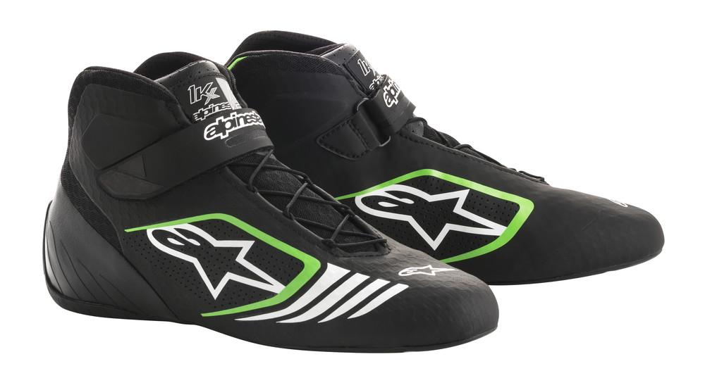 alpinestars(アルパインスターズ) TECH 1-KX KART SHOES BLACK GREEN サイズ:9 品番:2712118-1069-8.5