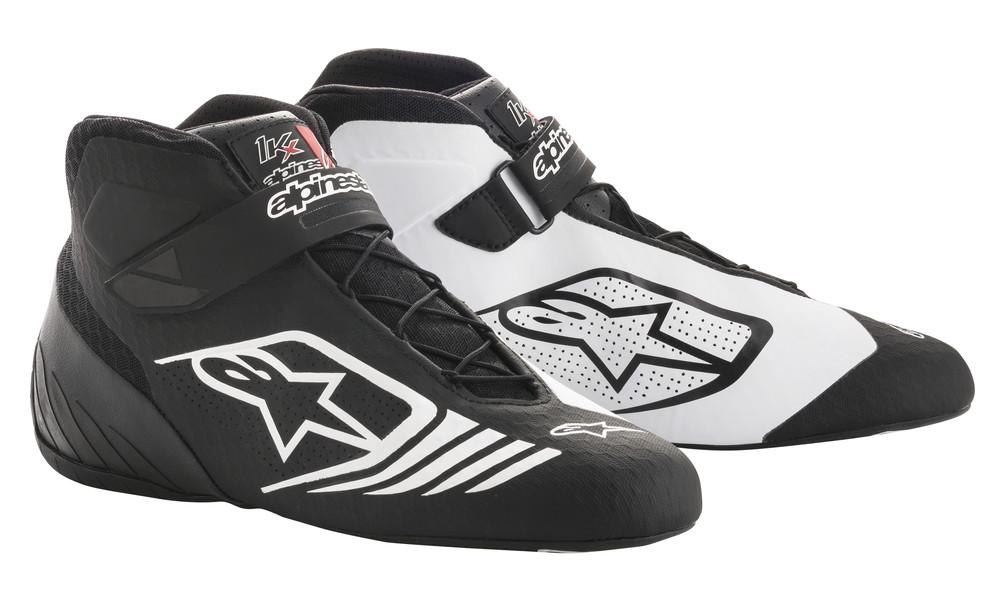 alpinestars(アルパインスターズ) TECH 1-KX KART SHOES BLACK/WHITE サイズ:9 品番:2712118-12-9