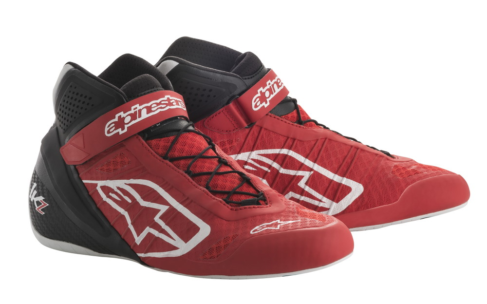 alpinestars(アルパインスターズ) TECH 1-KZ KART SHOES RED/BLACK サイズ:9 品番:2713018-31-9