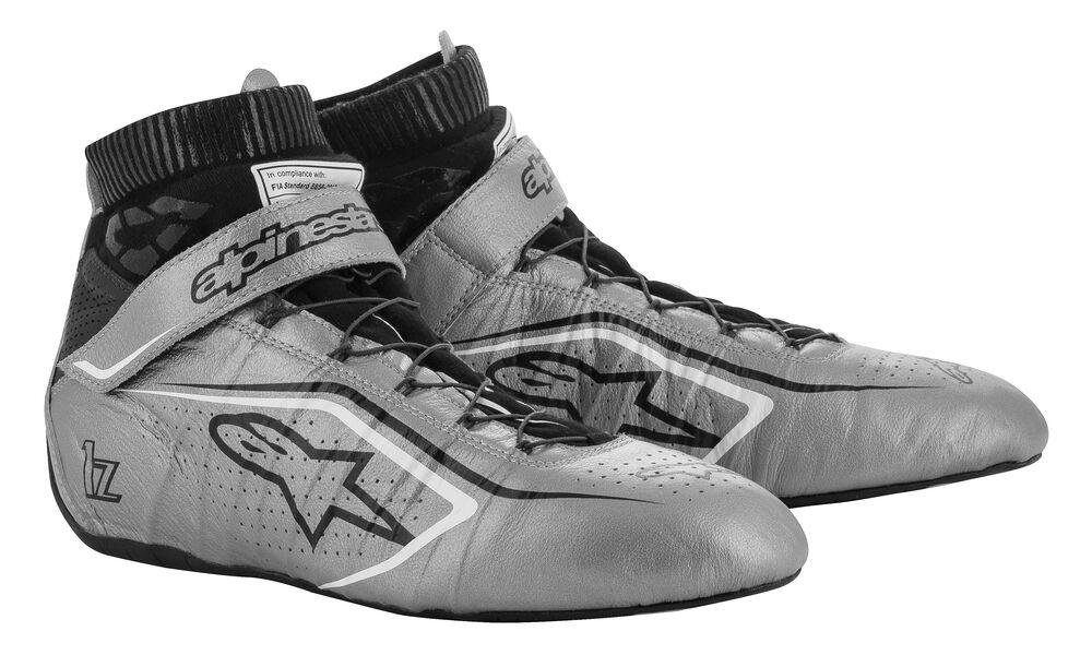 alpinestars(アルパインスターズ) TECH-1 Z V2 SHOES SILVER BLACK WHITE サイズ:7 品番:2715020-1912-7