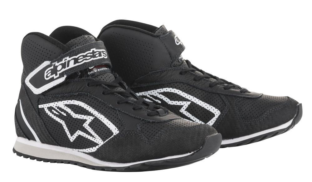 alpinestars(アルパインスターズ) RADAR SHOES BLACK/WHITE サイズ:9 品番:2719018-12-9