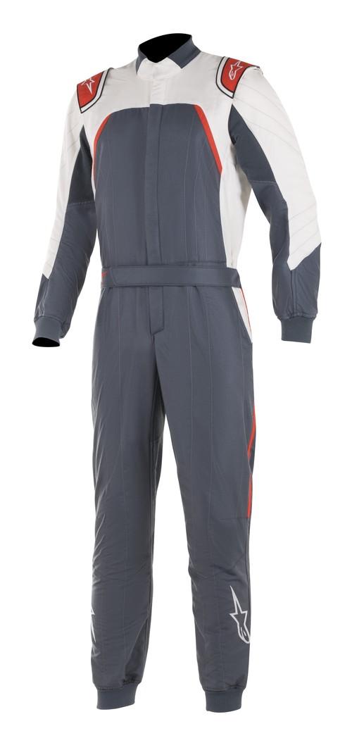 【2019モデル】 alpinestars(アルパインスターズ) GP PRO COMP SUIT ASPHALT WHITE RED サイズ:46 品番:3352019-9123-46