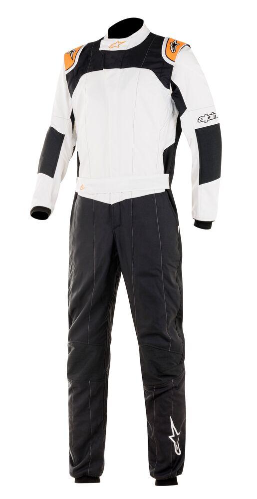 alpinestars(アルパインスターズ) GP TECH V3 SUIT BLACK WHITE ORANGE FLUO サイズ:54 品番:3354020-1241-54