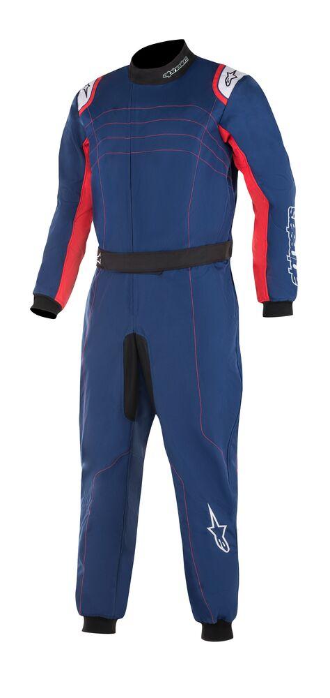 alpinestars(アルパインスターズ) KMX-9 V2 S KART SUIT BLUE NAVY RED WHITE サイズ:150 品番:3356519-7102-150