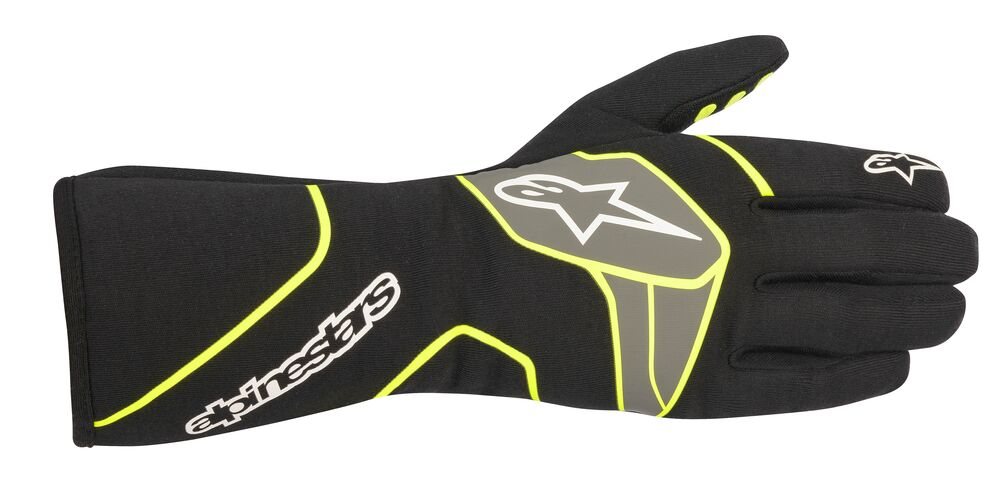 alpinestars(アルパインスターズ) TECH-1 RACE V2 GLOVES BLACK YELLOW FLUO サイズ:XL 品番:3551020-155-XL