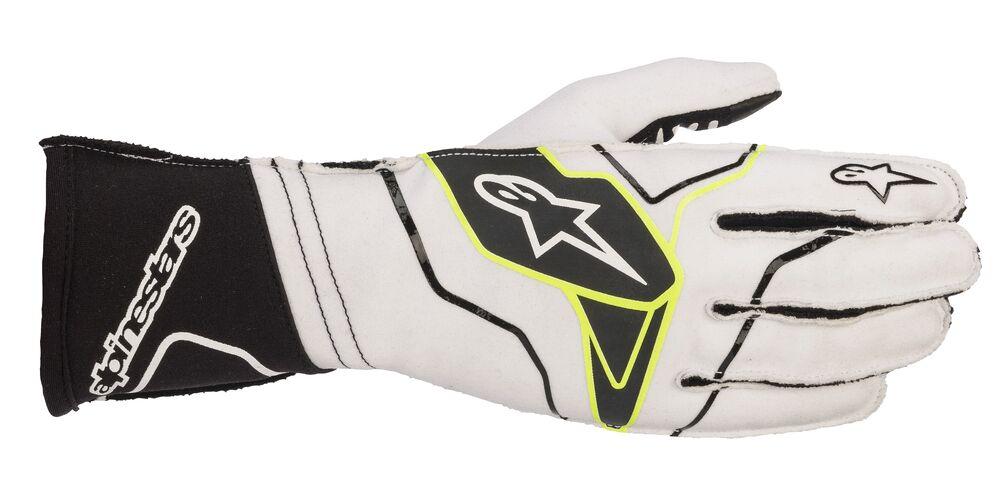 alpinestars(アルパインスターズ) TECH-1 KX V2 KART GLOVES WHITE BLACK サイズ:M 品番:3551820-21-M