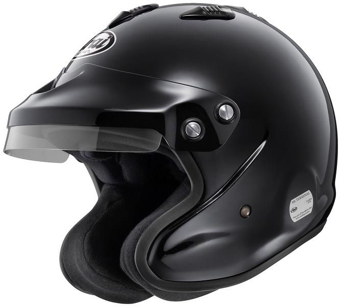 ARAIヘルメット GP-J3 8859 (55-56) 黒 品番:GP-J3-8859-S-BK