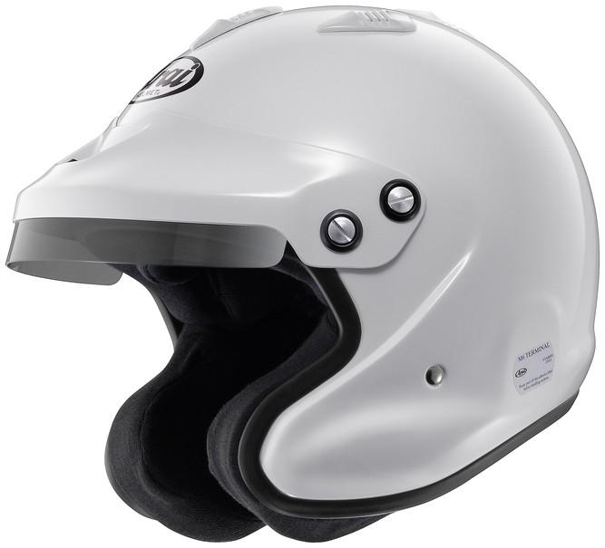 ARAIヘルメット GP-J3 8859 (60-61) 白 品番:GP-J3-8859-XL-WH