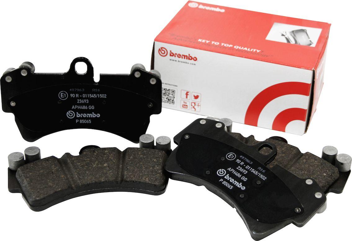 brembo(ブレンボ) ブレーキパッド ブラック フロント PORSCHE CAYENNE(957) 9PAM4851A 06/12-10/03 品番:P65 017