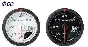 Defi(デフィ) デフィリンクメーターアドバンス CR 燃圧計 汎用 黒文字盤 Φ60 0kPa~600kPa 品番:DF09002