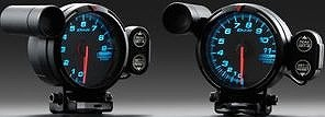 Defi(デフィ) レーサーゲージ 排気温度計 汎用 ホワイト Φ52 12V車専用 24V車不可 品番:DF06806