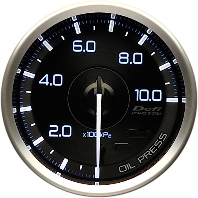 Defi(デフィ) ADVANCE A1 φ60 油圧計 品番:DF15001