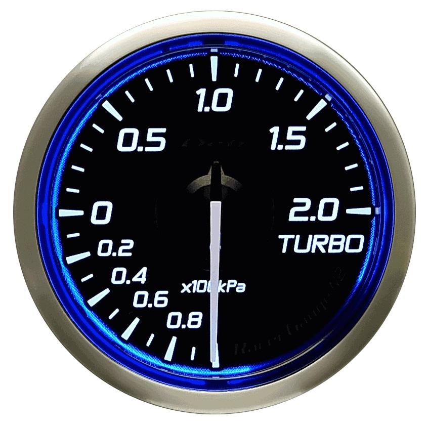 Defi(デフィ) Racer GaugeN2 φ52 ターボ計2.0(TURBO) 品番:DF16001