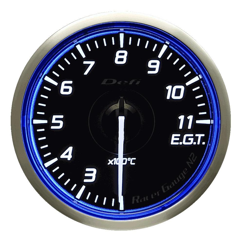 Defi(デフィ) Racer GaugeN2 φ60 排気温度計(E.G.T.) 品番:DF17001
