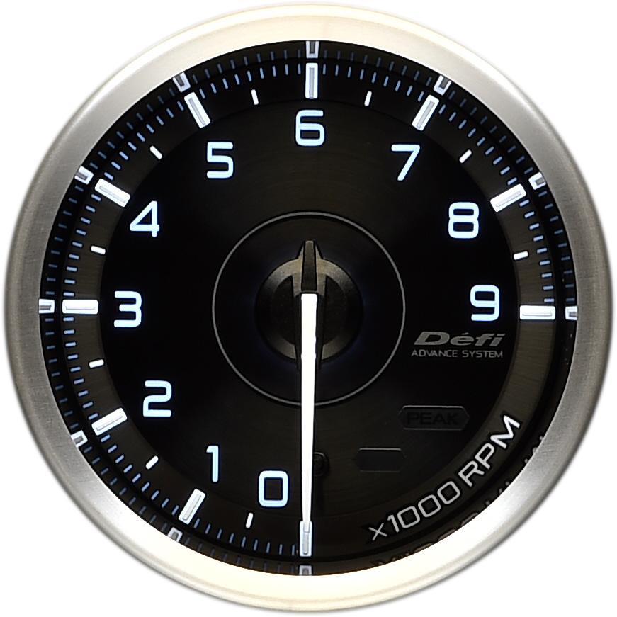 Defi(デフィ) ADVANCE A1 φ60 タコメーター 9000rpm 品番:DF17501