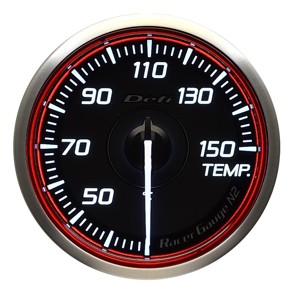Defi(デフィ) Racer GaugeN2 φ60 温度計 レッドモデル 品番:DF16903