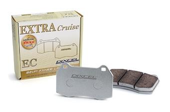 EC325248 / EC361074 ブレーキパッド DIXCEL(ディクセル) ブレーキパッド エクストラクルーズタイプ 1台分セット スバル インプレッサWRX GDA 02/11-07/6 品番:EC361074/EC325248
