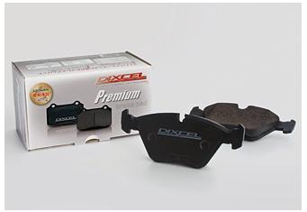DIXCEL ディクセル プレミアムタイプ 1台分前後セット スバル トラヴィック XM182/XM220 01/08~01/10 [ブレーキパッド] P1411309 / P1451553