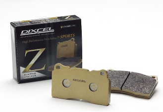 DIXCEL(ディクセル) ブレーキパッド Zタイプ フロント マツダ デミオ DE5FS 07/7-14/9 品番:Z351102
