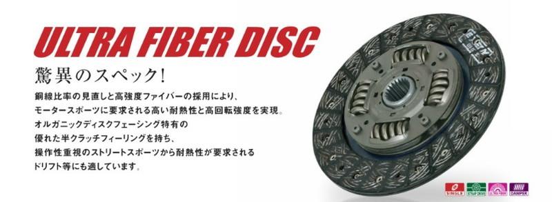 エクセディ ウルトラファイバー クラッチディスク・カバーセット マツダ ロードスター NA/MB8C 品番: ZK03HA