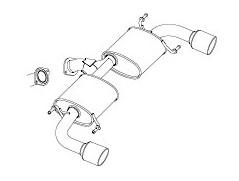 FUJITSUBO(フジツボ) ★ AUTHORIZE[オーソライズ] S CX-5 DBA-KEEFW 2012/02- [マフラー] 360-47702