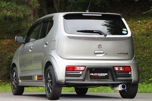FUJITSUBO(フジツボ) マフラー RIVID[リヴィッド] スズキ アルトワークス DBA-HA36S 2WD 2015/12- 品番:860-80186