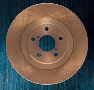 GLANZ(グラン) 輸入車用ハードブレーキローター[フロント] オペル ヴィータ XN120 01/3~ 1.2 16V [ブレーキローター] 141107