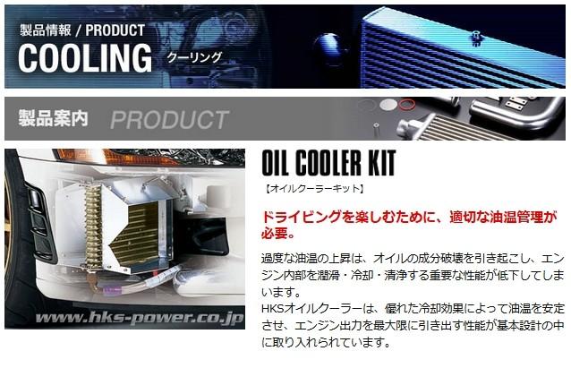 HKS オイルクーラーキット Sタイプ  汎用 品番: 15002-AK006