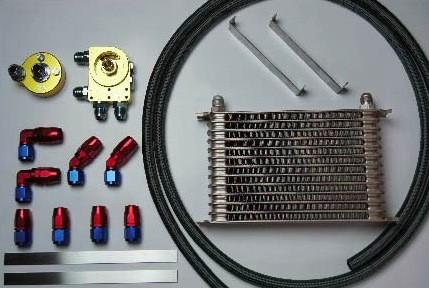 HPI エンジンオイルクーラーキット 汎用 汎用 10段 [オイルクーラー] HPOC-10SET2B