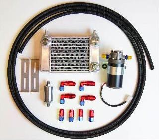 HPI 汎用サイドタンクミッションデフクーラーキット ランエボV(5) CP9A W4 [クーリングその他] HPMDOCE-W4