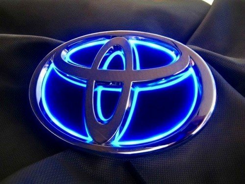 ジュナック LEDトランスエンブレム(フロント) ヴェルファイアハイブリッド 2011/11- 品番:LTET1S