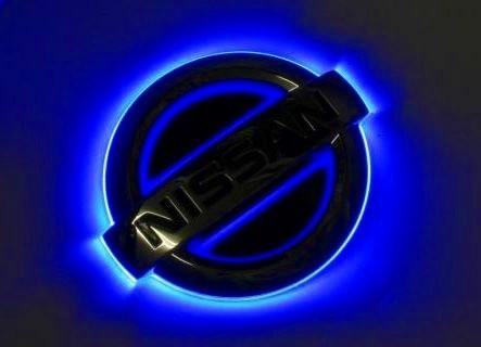 ジュナック LEDトランスエンブレム(リア) キャラバン E25 2001/04- 品番:LTEN1