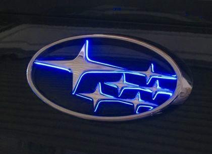 ジュナック LEDトランスエンブレム(リア) レガシィB4 BM9 2009/05- 品番:LTES3