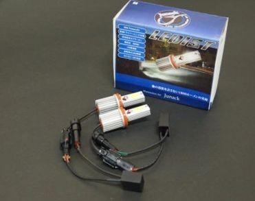 ジュナック LEDIST H8/9/11/16 LEDバルブシリーズ 汎用 純白光6000K LFB2