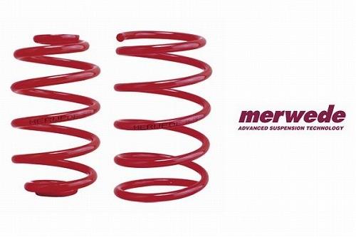 MERWEDE(メルヴェ) ダウンサスペンション オペル オメガワゴン オメガ B ワゴン 6気筒 XF-W [ダウンサス・サスペンション・スプリング] 50OP 60168
