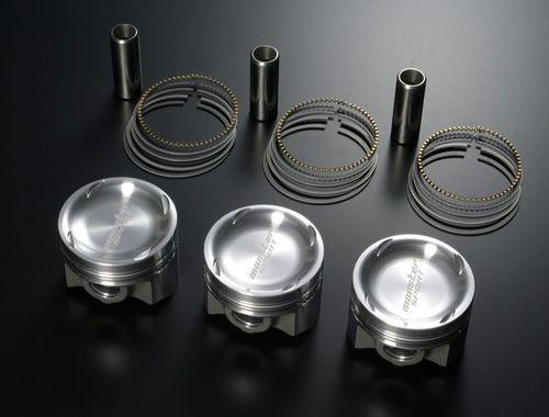 MONSTER モンスター K6A鍛造ピストンキット 汎用 K6A ピストン径65.0mm/排気量658cc/ピストンクラウン容積7.3cc [エンジンパーツその他] 1315689440M