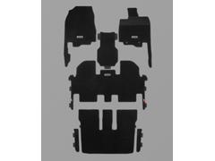 MUGEN(無限) スポーツマット 2列目6:4分割スライドシート用/センターコンソールボックス非装備車用 オデッセイ RC2 2017/11- 品番:08P15-XML-K1S0