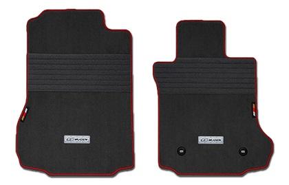 MUGEN(無限) スポーツマット ブラック×レッド S660 JW5 2015/04- 品番:08P15-XNA-K0S0-BK