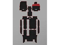 MUGEN(無限) スポーツマット ブラック×レッド 2列目キャプテンシート用 ステップワゴン RP1/RP2/RP3/RP4 2017/09- 品番:08P15-XNB-K0S0-RD