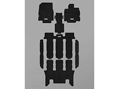 MUGEN(無限) スポーツマット ブラック 2列目6:4分割ベンチシート車 ステップワゴン RP1/RP2/RP3/RP4 2017/09- 品番:08P15-XNB-K1S0-BK