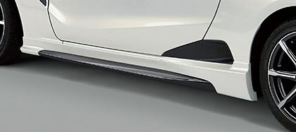 MUGEN(無限) サイドスポイラー プレミアムスターホワイト・パール S660 JW5 2015/04- ※配送先条件あり 品番:70219-XNA-K0S0-WP
