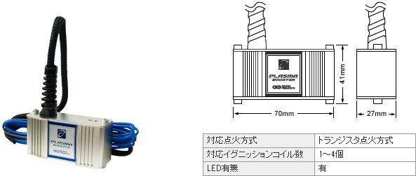 オカダプロジェクツ プラズマブースター トヨタ ランドクルーザー80 FZJ80G 1992.8-1998.10 1FZ-FE 商品番号: SB101100B