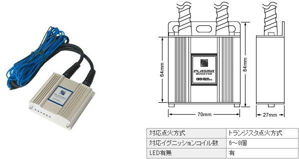 オカダプロジェクツ プラズマブースター 日産 セフィーロ LA31 1990.8-1994.8 RB20DE 商品番号: SB216500B