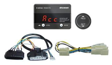 Pivot(ピボット) 3-drive・REMOTEハーネスセット (3DR+TH11A+BR9) 【TOYOTA トヨタ カローラアクシオ H24.5- NZE161/164 1NZ-FE】 品番:3DR-11A-9
