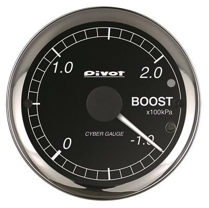 決算処分セール 在庫限り 早いもの勝ち Pivot ピボット CYBER 品番:COB 限定タイムセール OBDタイプ ブースト計 GAUGE 日時指定