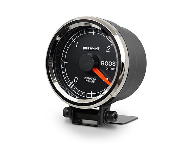 Pivot(ピボット) COMPACT GAUGE52 【シングルメーター ブースト計】 品番:CPB