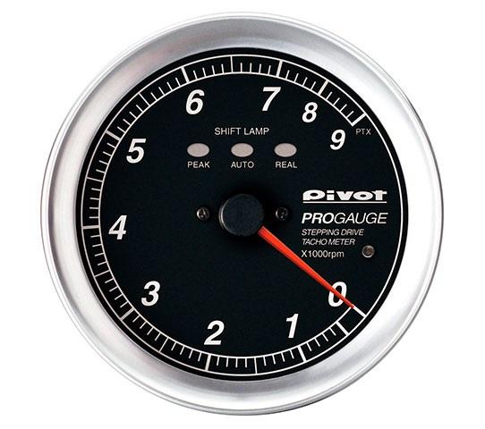 Pivot(ピボット) PROGAUGE シフトランプ付きタコメーター 80φ(白照明) 品番:PTX-W
