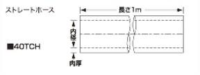 SAMCO サムコ ハイテンプストレートホース FB300 70 40TCH70
