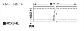 SAMCO サムコ エキストリームストレートホース FB300 70 40XSHL70
