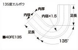 SAMCO サムコ 耐油エルボウホース FB275 65 40FE13565